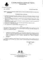 Convocazione Consiglio Comunale del 11/10/2018