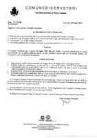 Convocazione Consiglio Comunale del 19/07/2019