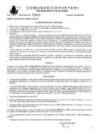 Convocazione Consiglio Comunale del 30/07/2020
