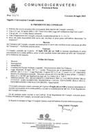 Convocazione del Consiglio Comunale del 12/07/2018