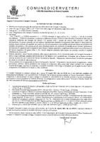 Convocazione Consiglio Comunale del 29 luglio 2021