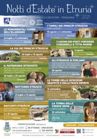 """""""Notti d'Estate in Etruria 2021"""" – Il sito Unesco di Cerveteri e Tarquinia"""