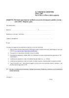 AGEVOLAZIONI TARIFFARIE per abbonamento annuale al trasporto pubblico locale per i cittadini della Regione Lazio