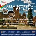 Alla scoperta del Lazio: Cerveteri il sito Unesco degli Etruschi dal 05 al 07 Aprile