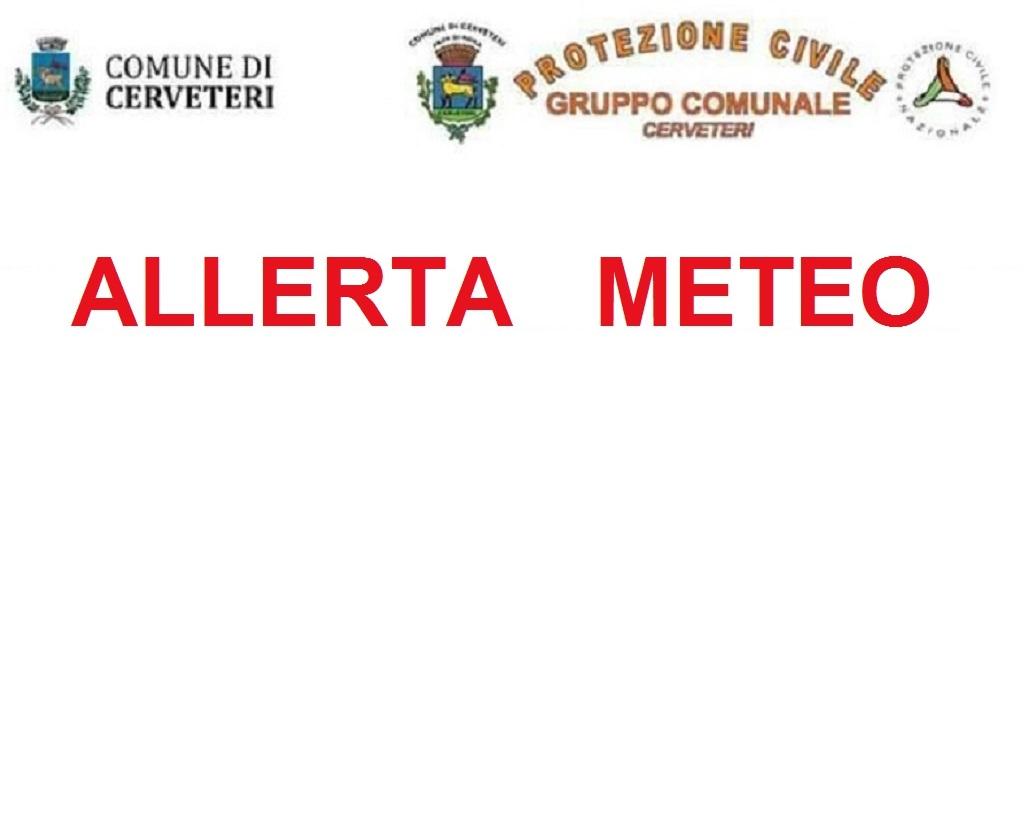 ALLERTA METEO - PREVISTE COPIOSE ED ABBONDANTI PIOGGE PER L'INTERA GIORNATA DI DOMENICA 10 E LUNEDI' 11 SETTEMBRE
