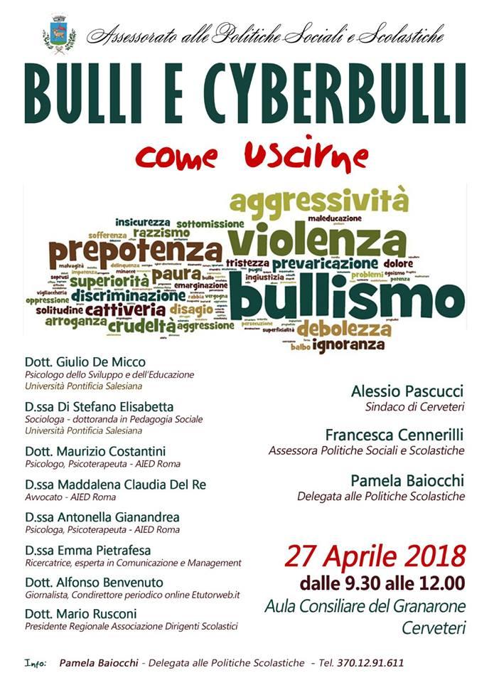 BULLI E CYBERBULLI - Come Uscire