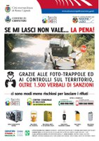 CAMPAGNA CONTRO L'ABBANDONO DEI RIFIUTI