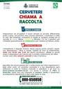 CERVETERI CHIAMA A RACCOLTA
