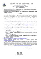 CODICE IDENTIFICATIVO REGIONALE delle Strutture ricettive Extralberghiere e degli Alloggi per uso turistico.