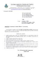 Commissione Consiliare Bilancio – Convocazione