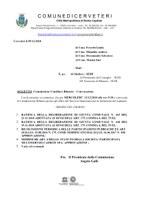 COMMISSIONE CONSILIARE BILANCIO - CONVOCAZIONE