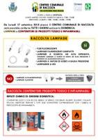 CONFERIMENTO DI LAMPADE E CONTENITORI DI PRODOTTI TOSSICI