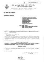 """Convocazione Commissione Consiliare II """"Bilancio, Programmazione Economica, Tributi, Patrimonio"""" in modalità videoconferenza."""