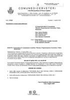 """Convocazione II Commissione """"Bilancio, Programmazione Economica, Tributi, Patrimonio"""""""