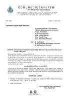 """Convocazione II Commissione Consiliare """"Bilancio Programmazione Economica, Tributi, Patrimonio"""""""