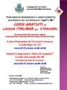 CORSI GRATUITI di lingua italiana per stranieri