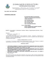 """II Commissione Consiliare """"Bilancio Programmazione Economica,Tributi, Patrimonio"""" – Convocazione"""