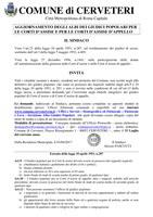 Iscrizione negli Albi dei Giudici Popolari - Scadenza presentazione delle domande 31/07/2017