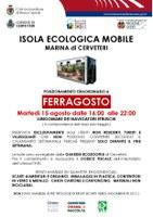 ISOLA ECOLOGICA MOBILE FERRAGOSTO