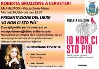La criminologa Roberta Bruzzone presenta 'Io non ci sto più'