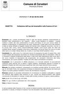 LIMITAZIONE NELL'USO DEI TENSIOATTIVI NELLA FRAZIONE DI CERI