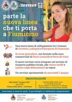 NUOVA LINEA  CERVETERI - LADISPOLI - AEROPORTO DI FIUMICINO