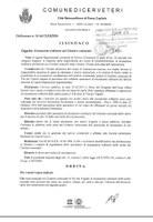 Ordinanza n. 14 del 21.04.2016
