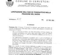 Ordinanza n. 45 del 02/11/2015