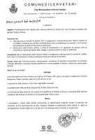 Proclamazione lutto cittadino per il giorno martedì 31 ottobre 2017