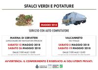 SERVIZIO RACCOLTA SFALCI VERDI E POTATURE