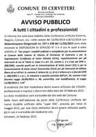 Servizio Urbanistica - AVVISO nuova modulistica
