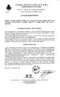 Variante Speciale al PRG per il recupero del nucleo edilizio abusivo del Cerqueto, ai sensi dell'art. 4, comma 1 della L.R. 2 maggio 1980, n.28 e s.m.i. - Adozione