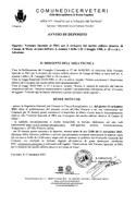 Variante Speciale al PRG per il recupero del nucleo edilizio abusivo di Campo di Mare, ai sensi dell'art. 4, comma 1 della L.R. 2 maggio 1980, n.28 e s.m.i. - Adozione