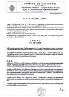 Ordinanza n. 93/2015 - ZTL Centro Storico