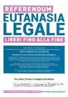 REFERENDUM ABROGATIVO EUTANASIA LEGALE