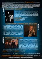 Saxophobia programma 2015