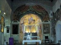 Madonna di Ceri_affreschi